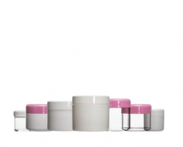 A Series :Plastic Cosmetic Jars
