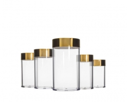 N Series :Plastic Cosmetic Jars